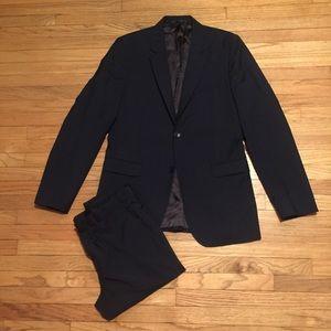 Theory men's navy blue suit - 40L 32x33